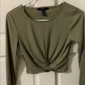 Women's Cropped Blouse Size S